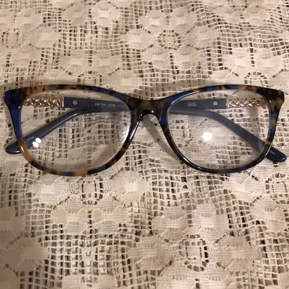 Chelsea Morgan Accessories | Blue Tortoise Frames | Poshmark